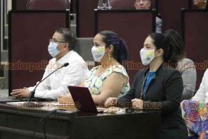 Xalapa, Ver., 24 de noviembre de 2020.- Este martes, la titular de la Secretaría de Turismo (SECTUR), Xóchitl Arbesú Lago, compareció ante la comisión permanente de Turismo en el Congreso del Estado.