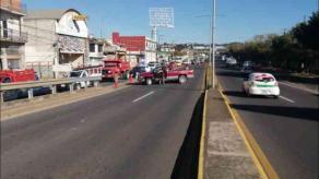 Xalapa, Ver., 25 de noviembre de 2020.- Por labores de balizamiento, a las 9:30 horas se cerró el paso sobre el puente ubicado en el bulevar Xalapa-Banderilla, cerca de SEFIPLAN. Tomes sus previsiones.