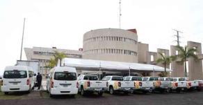Xalapa, Ver., 18 de enero de 2020.- La Comisión Estatal de Búsqueda recibió del Gobierno federal 33 millones de pesos en equipo para la búsqueda de personas en la entidad. Se recibieron drones, georradares, tecnologías de la información y comunicación, así como vehículos.