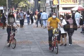Ciudad de México, 18 de enero de 2021.- Ante el semáforo rojo epidemiológico, el gobierno de la CDMX exhorta a la población a quedarse en casa, aplicar las medidas sanitarias al salir a la calle o en el transporte público.