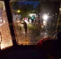 Teocelo, Ver., 20 de enero de 2021.- Un árbol cayó y obstruyó el paso vehicular en la carretera Coatepec a Teocelo, en el tramo