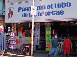 Poza Rica, Ver., 22 de enero de 2021.- Comerciantes de los mercados periféricos y de establecimientos fijos en el Centro, padecieron por cinco horas la falta de energía.