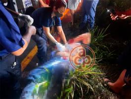 Medellín de Bravo, Ver., 23 de enero de 2021.- Al taxista le robaron la unidad en Boca del Río pero los asaltantes terminaron saliéndose de la carretera hacia un barranco de unos 8 metros, antes de llegar a Paso del Toro.