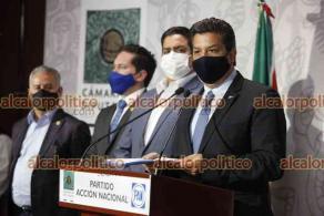 Ciudad de México, 24 de febrero de 2021.- El gobernador de Tamaulipas, Francisco García Cabeza de Vaca, acudió a la Cámara de Diputados para conocer el expediente sobre la acusación en su contra por delincuencia organizada y otros delitos.