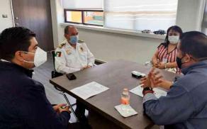 Xalapa, Ver., 25 de febrero de 2021.- La tarde de este miércoles firmaron el Convenio de Colaboración, el comisionado del IPAX, Héctor Manuel Riveros Hernández y el director de ARSPS Rodolfo Yáñez Mantilla.