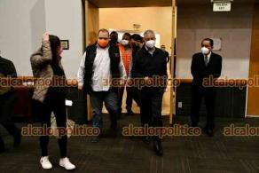 Xalapa, Ver., 25 de febrero de 2021.- Anuncian en conferencia de prensa que el exrector de la UV, Raúl Arias Lovillo, va por la alcaldía de Xalapa con el partido Movimiento Ciudadano.