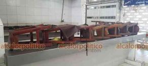 Coatzacoalcos, Ver., 5 de marzo de 2021.- Los locatarios que aún permanecen activos, como Ana María Fuentes, aseguran que luchan a diario pues las ventas se han desplomado considerablemente.