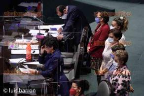 Ciudad de México, 13 de abril de 2021.- La Cámara de Diputados aprobó en lo general por 348 votos a favor, 32 abstenciones y 77 en contra, la regulación del outsourcing para dar seguridad social, prestaciones económicas, de vivienda y derechos laborales a los trabajadores.