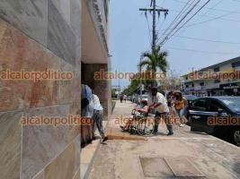 Veracruz, Ver., 17 de abril de 2021.- En el tercer día de la jornada, en la que se convocó a los apellidos de la