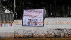 """Xalapa, Ver., 19 de abril de 2021.- Personal del Instituto Veracruzano de la Salud Mental """"Dr. Rafael Velasco Fernández y del Centro Estatal de Cancerología"""