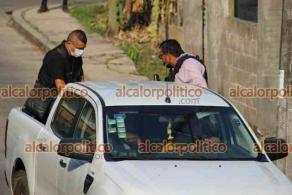 San Andrés Tuxtla, Ver.,19 de abril de 2021.- Un fuerte operativo por parte de elementos de la Policía Ministerial, Policía Estatal, Fuerza Civil y Guardia Nacional se registró en las instalaciones del cuartel de la policía local.