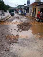 Xico, Ver., 12 de mayo de 2021.- Habitantes de la congregación de San Marcos de León también resultaron afectados por la fuerte lluvia de este miércoles, piden a las autoridades competentes que tomen cartas en el asunto.