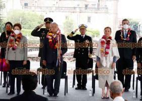 Ciudad de México, 13 de mayo de 2021.- El presidente Andrés Manuel López Obrador, acompañado por la expresidenta de Brasil, Dilma Rousseff, presidió la ceremonia