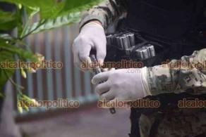 Veracruz, Ver., 17 de junio de 2021.- Sujetos armados con pistola asaltaron una carnicería en el fraccionamiento Vista Mar y fueron repelidos por elementos de la SSP, asignados a Soledad de Doblado, quienes los persiguieron hasta que los delincuentes abandonaron el carro. A unas calles de la carnicería también aseguraron un arma de fuego. Los asaltantes lograron escaparse.