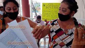 Poza Rica, Ver., 22 de junio de 2021.- Vecinos de la colonia irregular