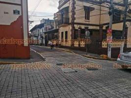 Xalapa, Ver., 22 de junio de 2021.- Tras la conclusión de los cómputos electorales en las instalaciones del OPLE, fue reabierta la circulación vial de la calle Juárez.