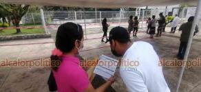 Córdoba, Ver., 22 de julio de 2021.- Policías también fueron por su vacuna antiCOVID. Este día arrancó en el municipio la inmunización de personas de 30 a 39 años y para rezagados.