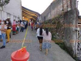 La Perla, Ver., 27 de julio de 2021.- Inició la aplicación de la unidosis de CanSino en personas de 18 y hasta 39 años de edad, en este municipio de la región de Orizaba.