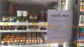 Veracruz, Ver., 30 de julio 2021.- Desde este viernes se suspendió la venta de alcohol en establecimientos como parte de la Ley Seca implementada por la Consulta Popular, aunque por decreto iniciaría desde las primeras horas del sábado.