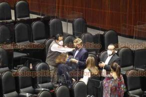 Ciudad de México, 30 de julio de 2021.- En sesión extraordinaria, la Cámara de Diputados discute el dictamen en la reforma laboral en el rubro de subcontratación o outsourcing.