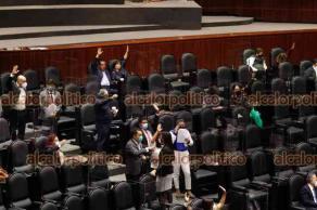 Ciudad de México, México, 30 de julio de 2021.- La Cámara de Diputados avaló en lo general y en lo particular lo no reservado, por 373 votos a favor, 71 en contra y 2 abstenciones, el dictamen para la reforma de las disposiciones en subcontratación o outsourcing.