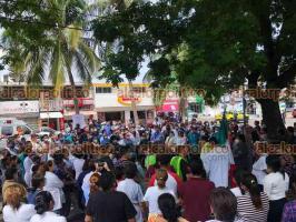 Veracruz, Ver., 19 de septiembre de 2021.- Personal de la Torre Pediátrica participó en el Simulacro Nacional; evacuaron 161 trabajadores y 71 visitantes.