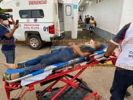 Acayucan, Ver., 22 de septiembre de 2021.- El accidente se registró sobre la autopista La Tinaja – Cosoleacaque, en el tramo Acayucan – Isla.