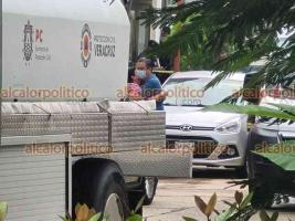 Coatzacoalcos, Ver., 23 de septiembre de 2021.- La mamá del exalcalde Joaquín Caballero Rosiñol, falleció este jueves al interior de su domicilio tras ocurrir un incendio en su domicilio.