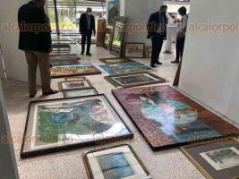 Xalapa, Ver., 25 de septiembre de 2021.- Este sábado se realiza la primera subasta de arte del Consejo de Turismo, Cultura y Deporte de Veracruz para impulsar la obra de artistas veracruzanos.