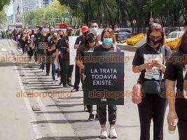 Ciudad de México, 16 de octubre de 2021.- Cientos de personas participan en el