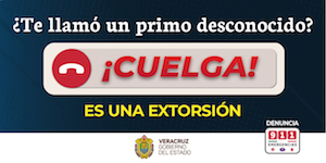 No mas extorsion
